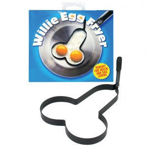 Rude Shaped Egg Fryer Willie