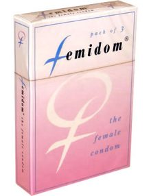 Femidom Female Condom 3 pcs