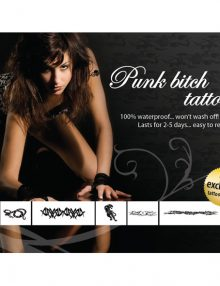 Tattoo Set  - Punk Bitch