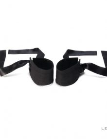 Lelo - Etherea Silk Cuffs Black