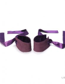 Lelo - Etherea Silk Cuffs Purple