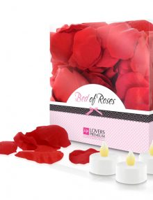 LoversPremium - Bed of Roses Rose Petals Red