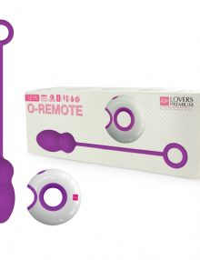 LoversPremium - O-Remote Control Egg Purple Leya