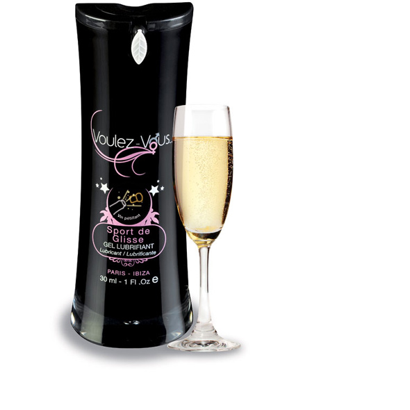 Voulez-Vous... - Waterbased Lubricant Champagne