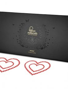 Bijoux Indiscrets - Mimi Nipple Cover Heart Red