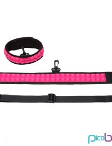 PicoBong - Speak No Evil Choker Cerise