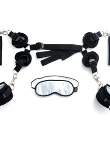 Fifty Shades of Grey - Bed Restraints Kit Black