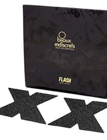 Bijoux Indiscrets - Flash Cross Black