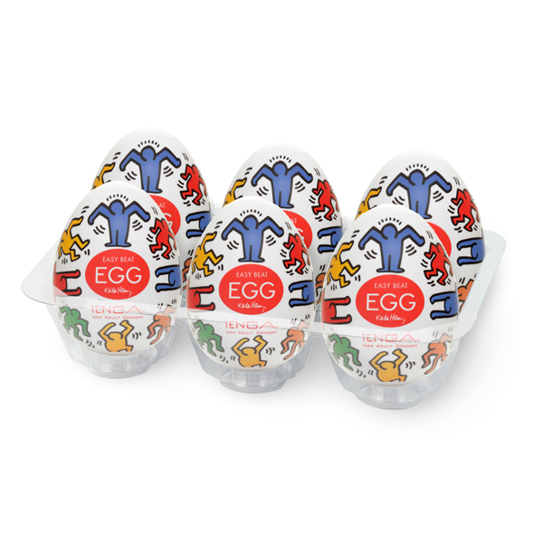 Tenga - Keith Haring Egg Dance (6 Pieces)