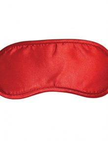S&M - Satin Blindfold Red