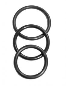 S&M - Nitrile Cock Ring 3 Pack
