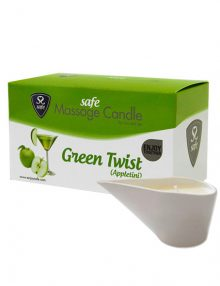 Safe - Massage Candle Green Twist Appletini