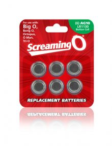 The Screaming O - Size AG-10 Batteries