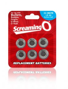 The Screaming O - Batteries Size AG-13