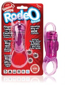The Screaming O - Rodeo Spinner Purple