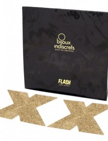 Bijoux Indiscrets - Flash Cross Gold