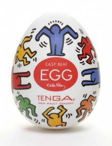 Tenga - Keith Haring Egg Dance (1 Piece)