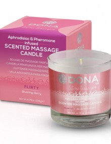 Dona - Scented Massage Candle Blushing Berry 225 m