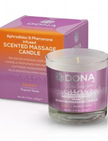 Dona - Scented Massage Candle Tropical Tease 225 m