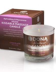 Dona - Kissable Massage Candle Chocolate Mousse 22