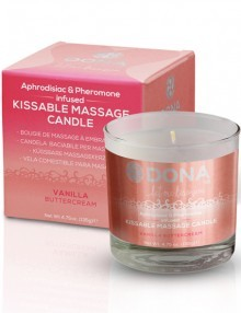 Dona - Kissable Massage Candle Vanilla Buttercream