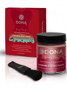Dona - Body Paint Strawberry Soufflé 60 ml