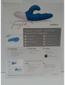 OhMiBod - Freestyle :W Flyer