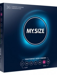 My Size - Natural Latex Condom 64 Width 36 pieces