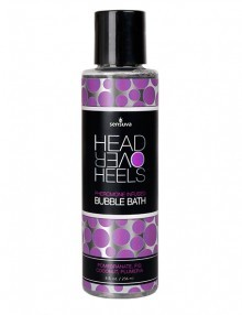 Sensuva - Head Over Heels Pheromone Bubble Bath Pomegranate Coco & Plumeria