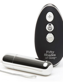 Fifty Shades of Grey - Relentless Vibrations Remote Control Bullet Vibe