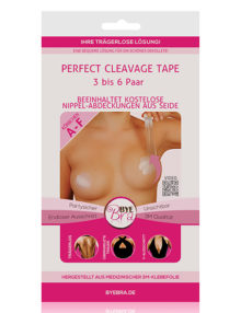 Bye Bra - Perfect Cleavage Tape A-F Nude 3-6 Pairs (DE)