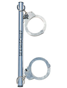 S&M - Spreader Bar with Metal Cuffs