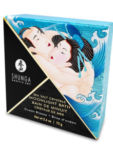 Shunga - Oriental Crystals Bath Salts Single Use Ocean Breeze 75