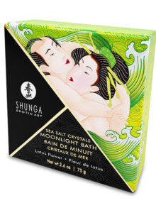 Shunga - Oriental Crystals Bath Salts Single Use Lotus Flower 75