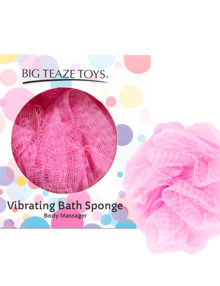 Big Teaze Toys - Bath Sponge Vibrating Pink