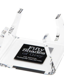 Fifty Shades of Grey - Flat Perspex Stand Clear