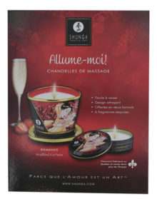Shunga - Counter Card Candles French