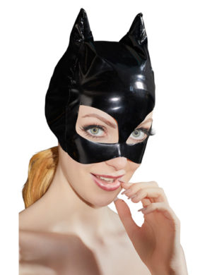 Vinyl Mask With Cat Ears